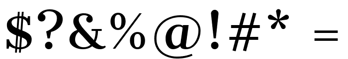 CantataOne-Regular Font OTHER CHARS
