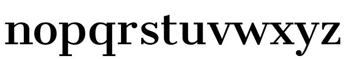 CantataOne-Regular Font LOWERCASE