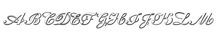 CantateBeveled Font UPPERCASE
