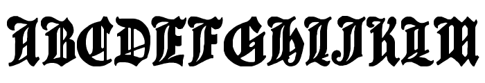 Cantebriggia Font UPPERCASE