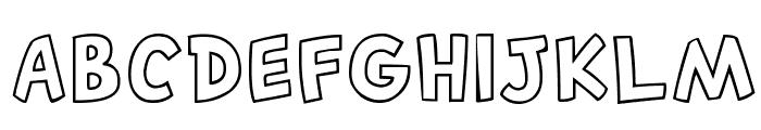 Canted FX Regular Font UPPERCASE