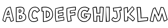 Canted FX Regular Font LOWERCASE