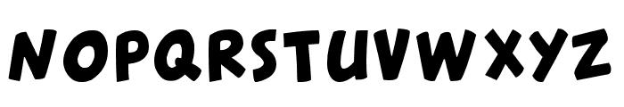 CantedFX-Bold Font UPPERCASE