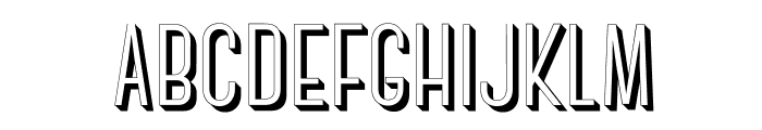 CanterBold3D Font UPPERCASE