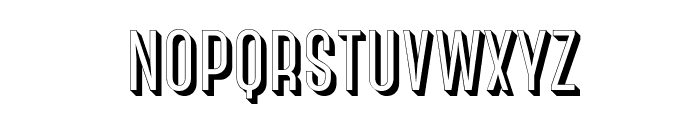 CanterBold3D Font LOWERCASE