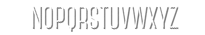 CanterBoldStrips Font UPPERCASE