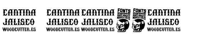 Cantina Jalisco Font OTHER CHARS