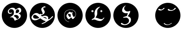 CantzleyInverseCaps Font OTHER CHARS
