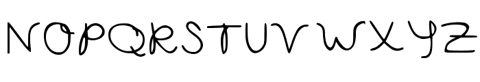 Capella Calligraphy Medium Font UPPERCASE