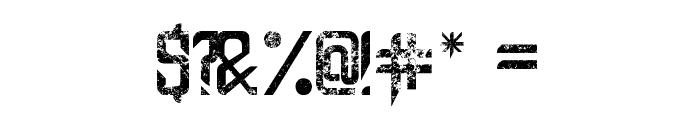 Capella (Rock) III Bold Font OTHER CHARS