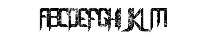 Capella (Rock) III Bold Font UPPERCASE