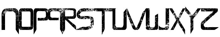 Capella (Rock) - LJ Design Studios Bold Font UPPERCASE