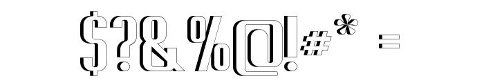 Capicola Sansish Open Font OTHER CHARS