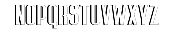 Capicola Sansish Open Font UPPERCASE