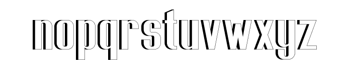 Capicola Sansish Open Font LOWERCASE