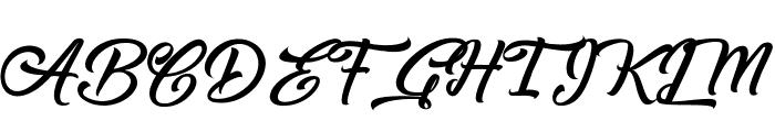 Capinella ou Beaujolais Font UPPERCASE