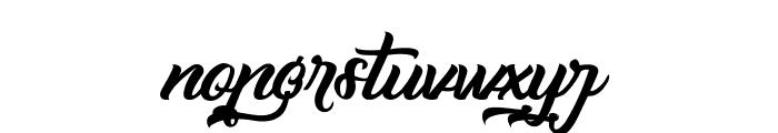 Capinella ou Beaujolais Font LOWERCASE