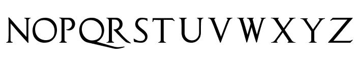 CapitalisTypOasisMedium Font UPPERCASE