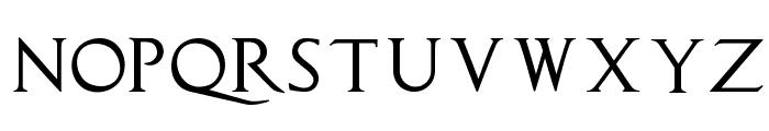 CapitalisTypOasisMedium Font LOWERCASE