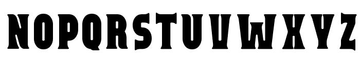Capitalist Font UPPERCASE