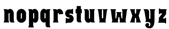 Capitalist Font LOWERCASE