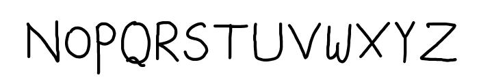 Capitals Font LOWERCASE