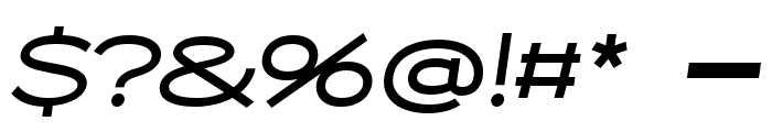 Capoon PERSONAL USE Medium Italic Font OTHER CHARS