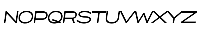 Capoon PERSONAL USE Medium Italic Font UPPERCASE