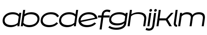Capoon PERSONAL USE Medium Italic Font LOWERCASE