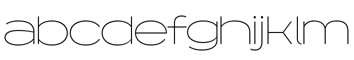 Capoon PERSONAL USE Thin Font LOWERCASE