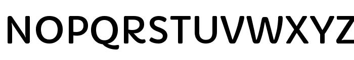 Capriola Regular Font UPPERCASE