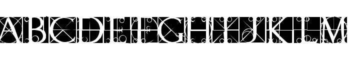 CapsRandomish Font UPPERCASE
