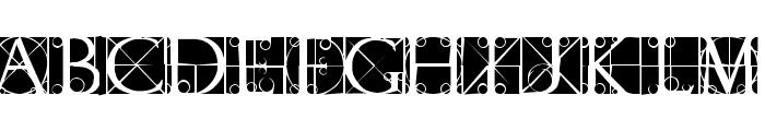CapsRandomish Font LOWERCASE