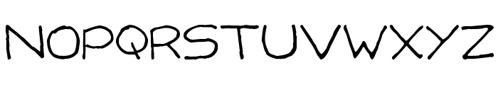 Capsies Font UPPERCASE
