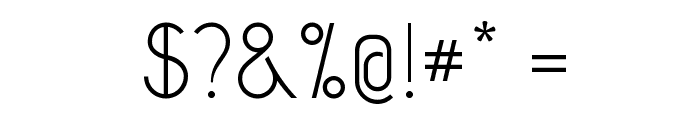 CapsuulaRegular Font OTHER CHARS