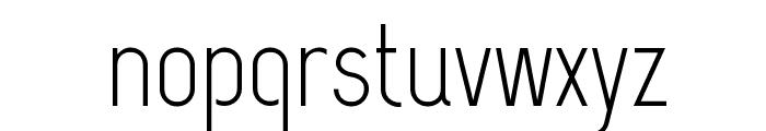 CapsuulaRegular Font LOWERCASE