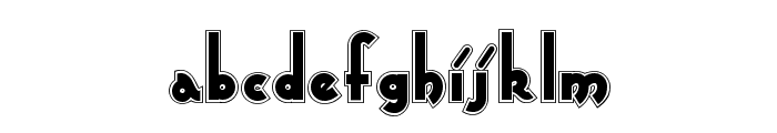 Captain Swabby NF Font LOWERCASE