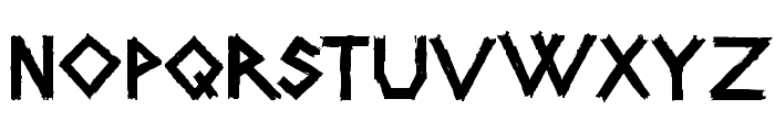 CarFont Font UPPERCASE