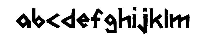 CarFont Font LOWERCASE