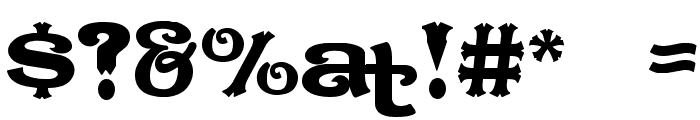 CaractereDoublet Limited Version Font OTHER CHARS