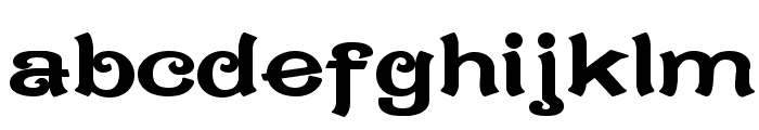 CaractereDoublet Limited Version Font LOWERCASE