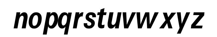 Caracteres L4 Font LOWERCASE