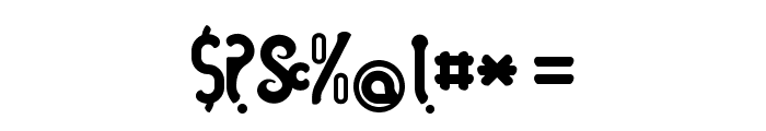 Caramelo-Bold Font OTHER CHARS
