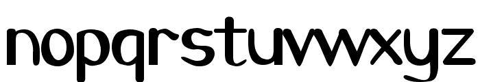 Caraway Regular Font LOWERCASE