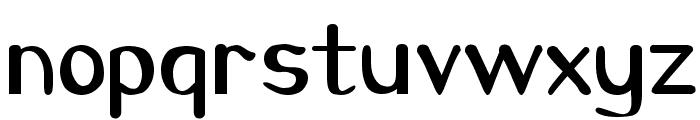 CarawayBold Font LOWERCASE