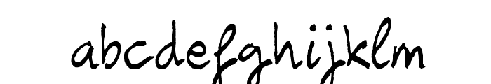 Carbax Font LOWERCASE