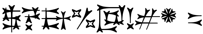 Carbolith Font OTHER CHARS