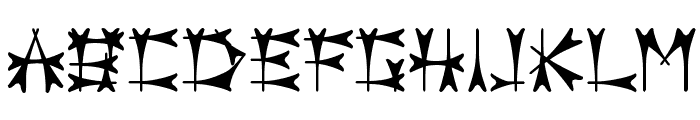Carbolith Font LOWERCASE