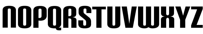 CarbonBl-Regular Font LOWERCASE