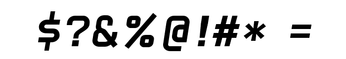 CarbonBold Italic W00 Regular Font OTHER CHARS